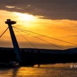 Bratislava in Evening